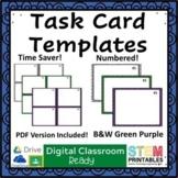 Digital Task Card Templates - Set of 24 | Distance Learning
