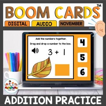 Digital Task Cards Addition