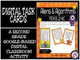 TEKS 2.4C / Distance Learning Digital Task Cards: Aliens &