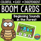 Digital Task Cards / Boom Cards™️ / Beginning Sounds in th