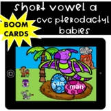 Decoding Short Vowel a CVC Words Activity- Boom Cards for Distance Learning