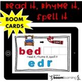 Initial Phoneme Substitution-Boom Cards Phonemic Awareness