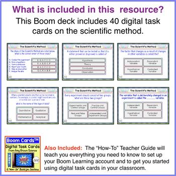 Boom Cards™ The Scientific Method