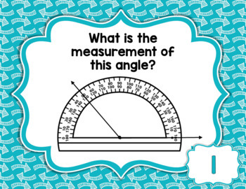 Digital Task Cards Boom Learning Fourth Grade Math Measuring Angles Test Prep