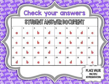 Distance Learning Boom Cards Fourth Grade Math Place ValueTest Prep TEKS 2.B