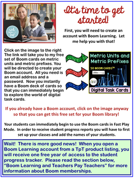 "Boom Learning℠ and Boom Cards™ Teacher ""How-To"" User Guide"