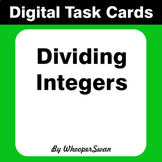 Digital Task Cards: Dividing Integers