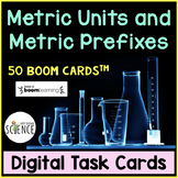 FREE Boom Cards: Metric Units and Metric Prefixes
