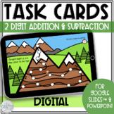 2 Digit Addition Subtraction Word Problems Digital Task Ca