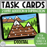 Digital Task Cards Game | Addition Subtraction Word Proble