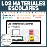 Los Materiales Escolares (school supplies) | Digital Task