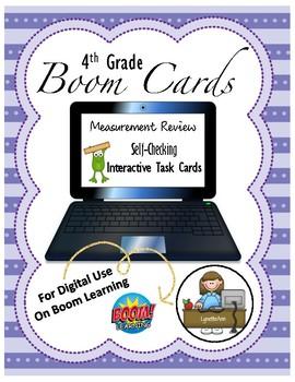 Digital Task Cards - Measurement - Boom Cards