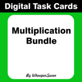 Digital Task Cards: Multiplication Bundle