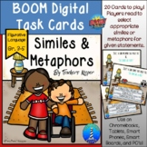 Digital Task Cards: Similes and Metaphors (Distance Learning)