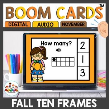 Digital Task Cards Ten Frames