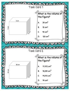Volume Task Cards- Digital Version