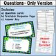 Digital Task Cards - Word Names for Numbers