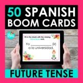 Future Tense Spanish BOOM CARDS | Digital Task Cards