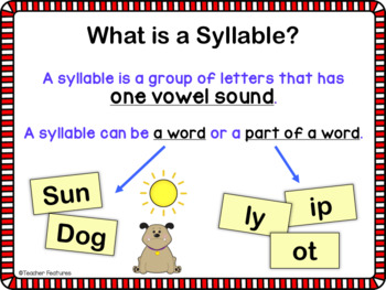 Digital Task Cards for Google Classroom: 6 Syllable Types (Dog Theme)