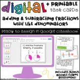 Adding & Subtracting Fractions Google Slides