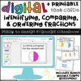 Digital Task Cards for Google Classroom: Fractions (50% off)