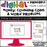 Digital Task Cards for Google Classroom™: Money