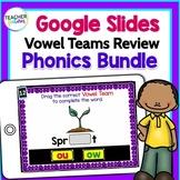 Google Classroom Activities for ELA   VOWEL TEAMS   1st grade & 2nd grade