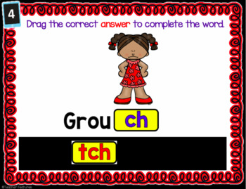 Google Classroom ELA & Literacy 2nd Grade SPELLING RULES -tch & -dge