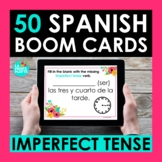 Imperfect Tense Spanish BOOM CARDS | Digital Task Cards |