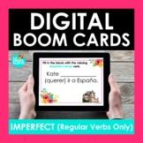 Regular Imperfect Tense Verbs Spanish BOOM CARDS