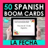 La Fecha Spanish BOOM CARDS | Digital Task Cards