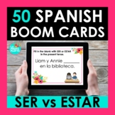 SER vs ESTAR Spanish BOOM CARDS | Digital Task Cards