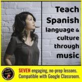 Digital:  Teach Culture & Language through Music Distance