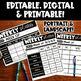 Digital Planner | Digital Teacher Planner Editable | Lesson Plan Template