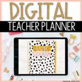 Digital Teacher Planner 2021-2022 | Boho Theme | Google Sl