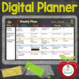 Digital Teacher Planner, for Google Slides