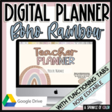 Digital Teacher Planner August 2020-July 2021