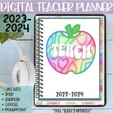 Digital Teacher Planner | Edit with iPad, tablet, Google S