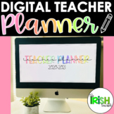 Digital Teacher Planner GOOGLE SLIDES