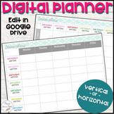 Digital Teacher Planner ⭐ Google Docs Lesson Plan Template