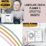 Digital Teacher Planner & Lifestyle Inserts | Boho Rainbow