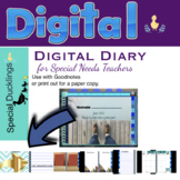 Digital Teacher Planner (Male Version) To use with Goodnotes