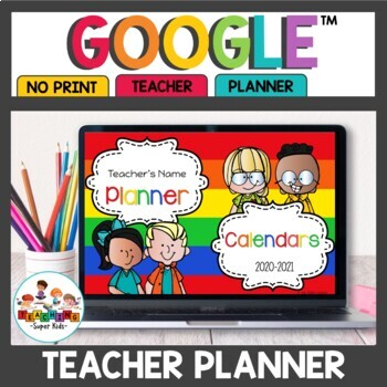 Digital Teacher Planner