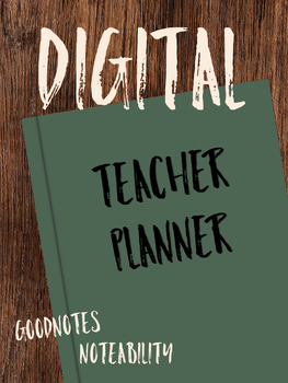 Digital Teacher Planner - Spring 2019