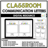 Digital Classroom Letters || Distance Learning