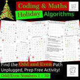 Digital Technologies/Maths - Algorithms - Odd & Even Holid