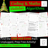 Digital Technologies/Maths - Algorithms - Odd & Even Holid