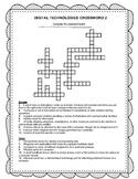 Digital Technologies Crossword Stage 2