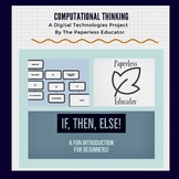Learn To Code! Unplugged, Computational Thinking If, Then,