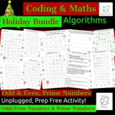 STEM Unplugged! Holiday Activity Pack, Algorithms, Prime N